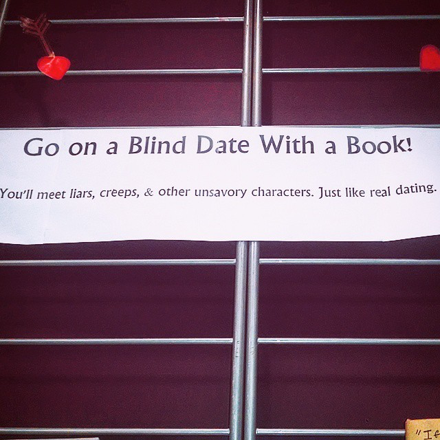 gypsyparker: LOOK WHAT MY #LIBRARY DID! #BlindDate #BlindDateWithABook #Books Props to the library. A.M.