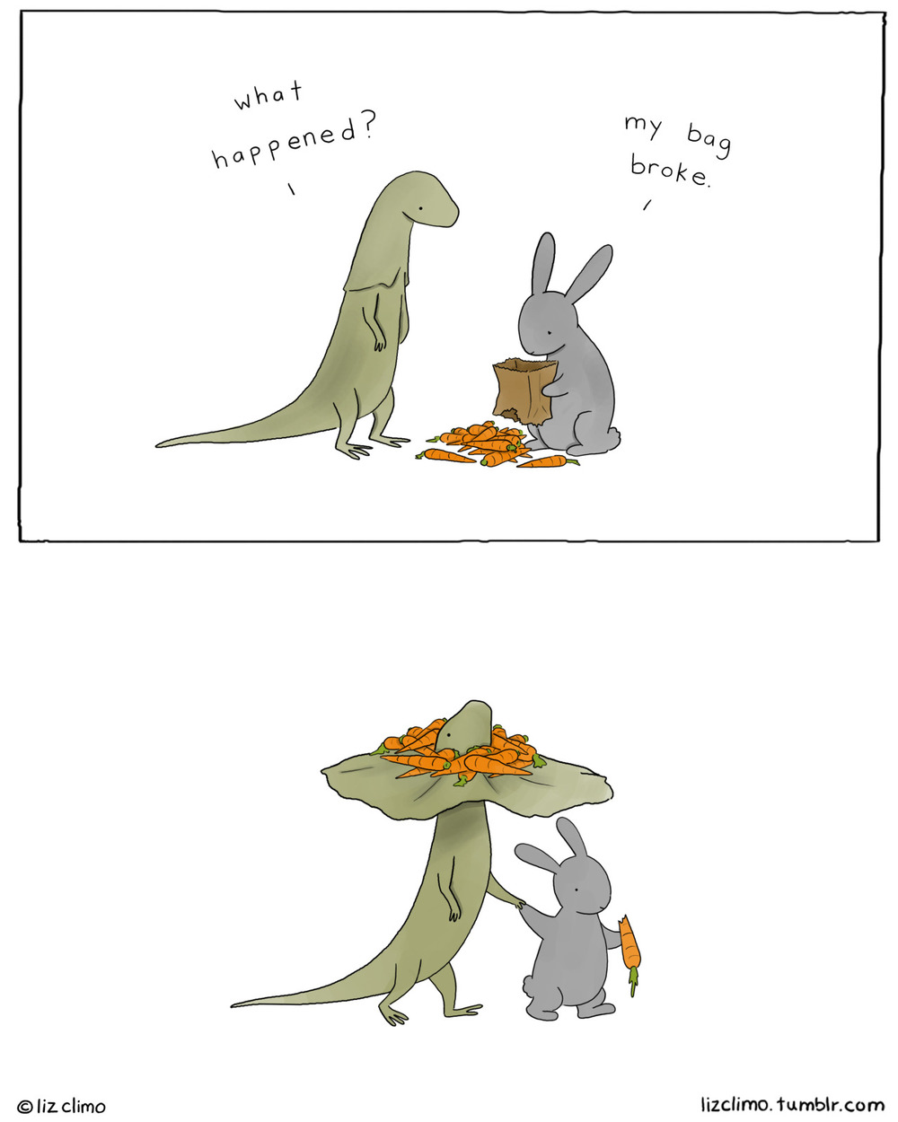 lizclimo :     for louie      Really cute. :)