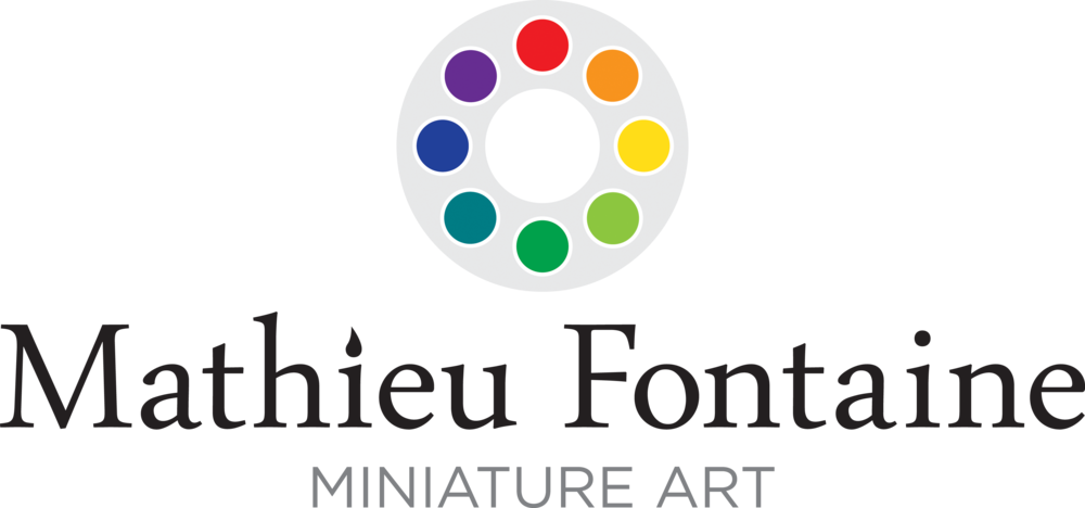Mathieu Fontaine Miniature Art