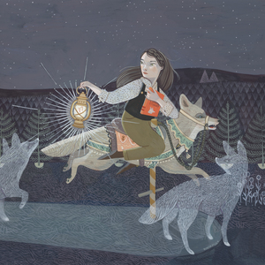 """Sleeping Giants"" is part of The Crane Wives'  Coyote Stories  record. (image courtesy of The Crane Wives)"