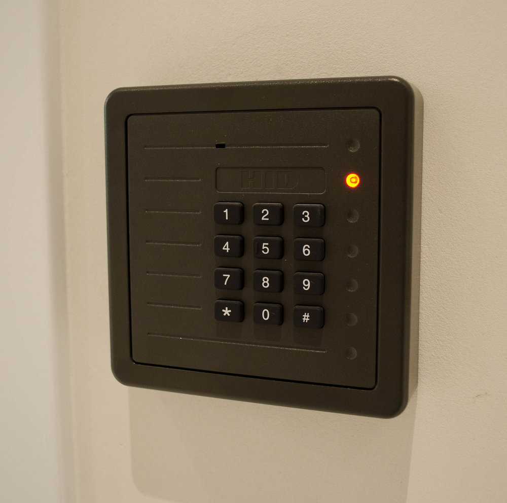 Suite Security System Built In