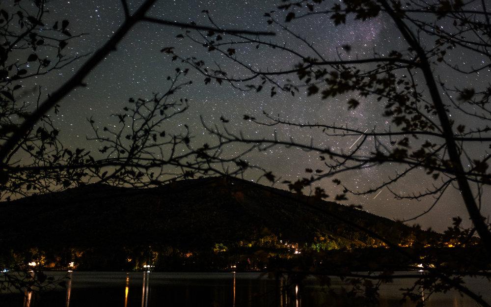Shawnee Peak Night Sky