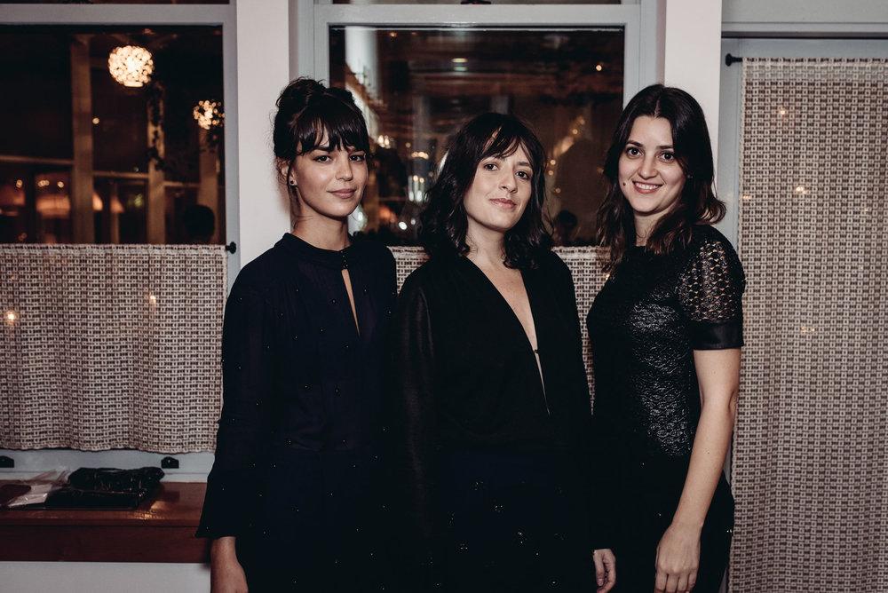 Camila Leite, Juliana Leandra and Larissa Ferreira / Photo: Fernando Godoy