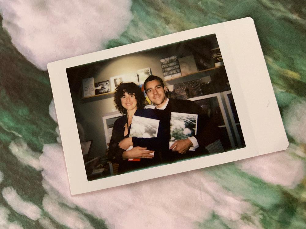 Maria Lago and Demian Jacob at Paris Photo, 2018