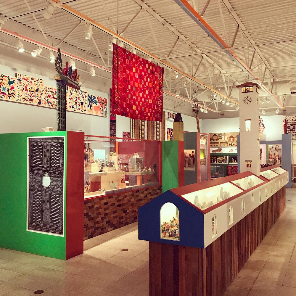 Alexander Girard Wing at The Museum of International Folk Art. Photo: Matt Wolf