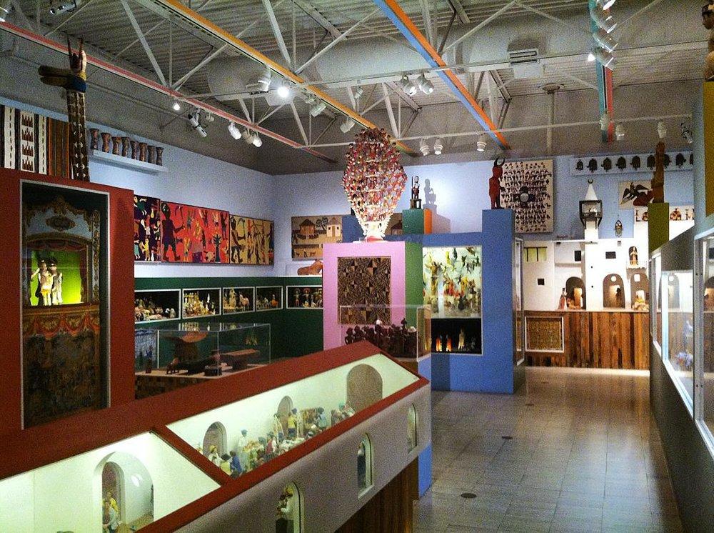 Alexander Girard Wing at The Museum of International Folk Art. Photo: Pilar Berguido