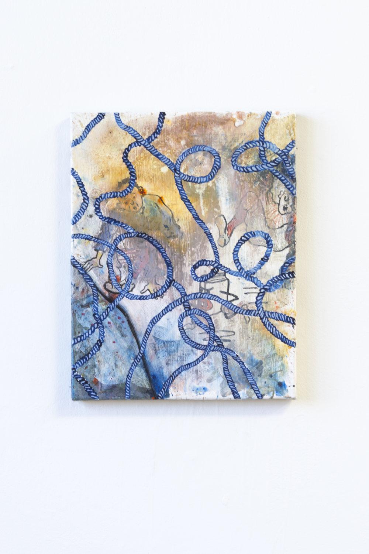 Slip  Acrylic on Canvas  2015