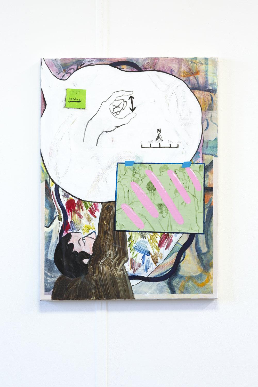 Elastic Boundaries  Acrylic on Canvas  2015