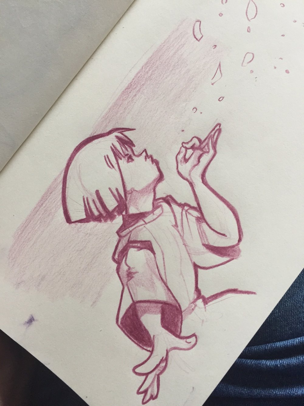 Amanda Belo's quick sketch!