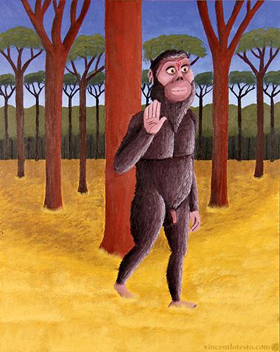 Narasimha Australopithecus afarenis