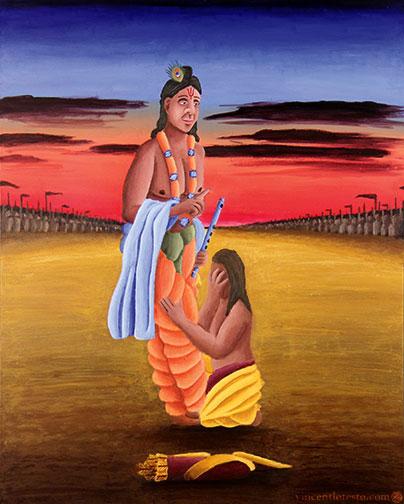 Krishna Homo sapiens