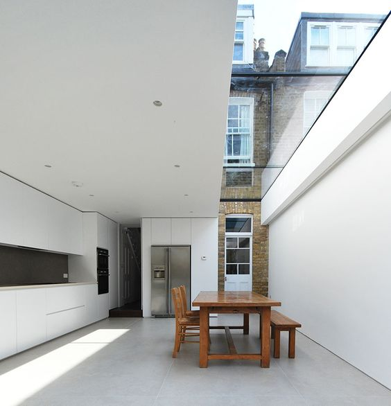 Clever use of glazing by IBMV ARCHITECTS
