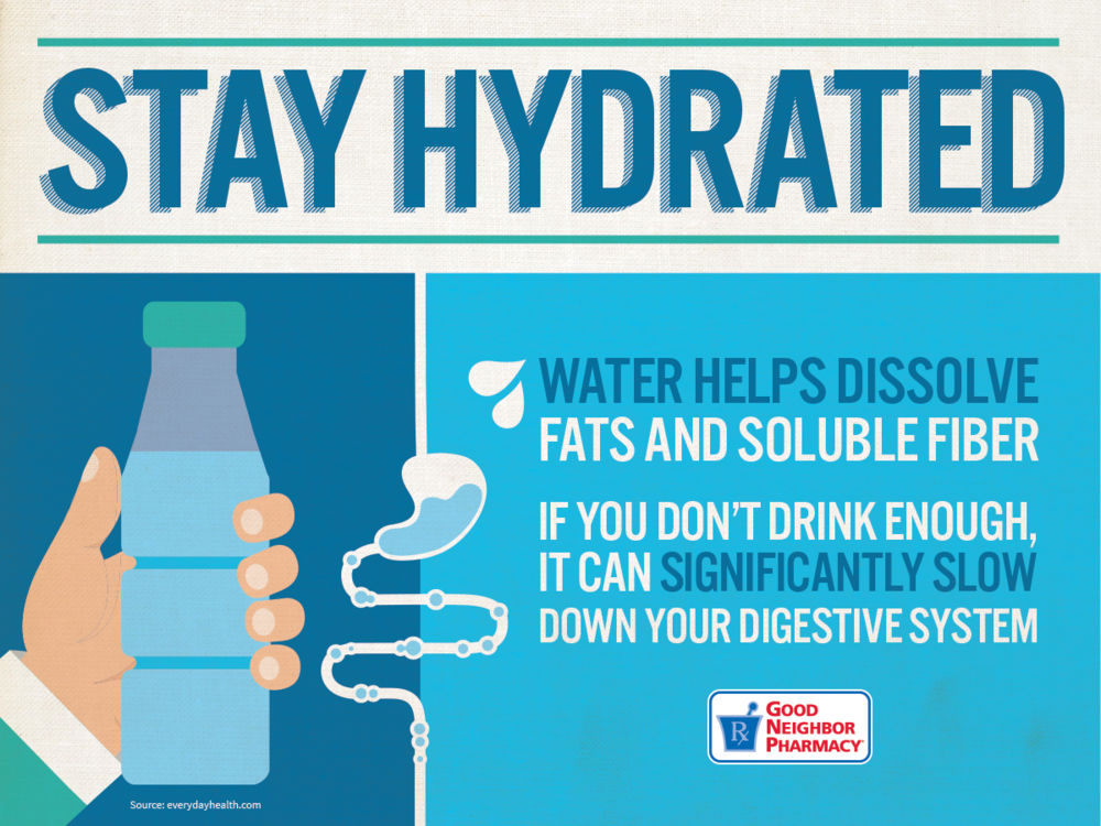 Stay Hydrated -