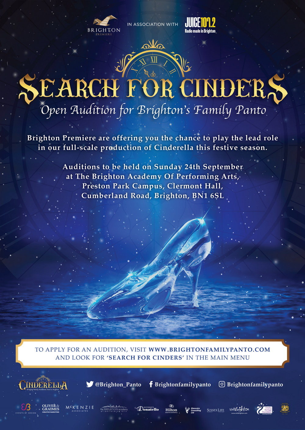 Search for Cinders Poster