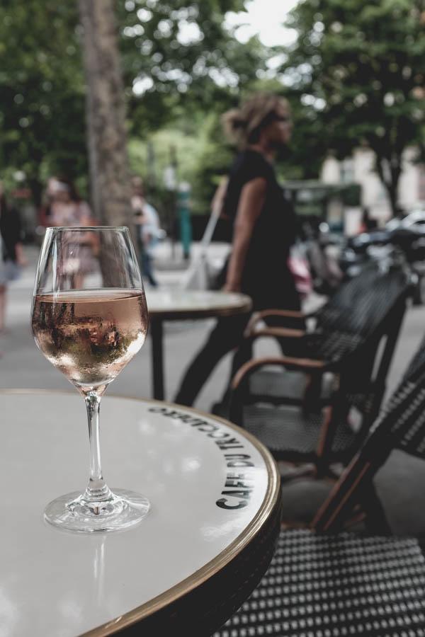Café du Trocadéro. Rosé