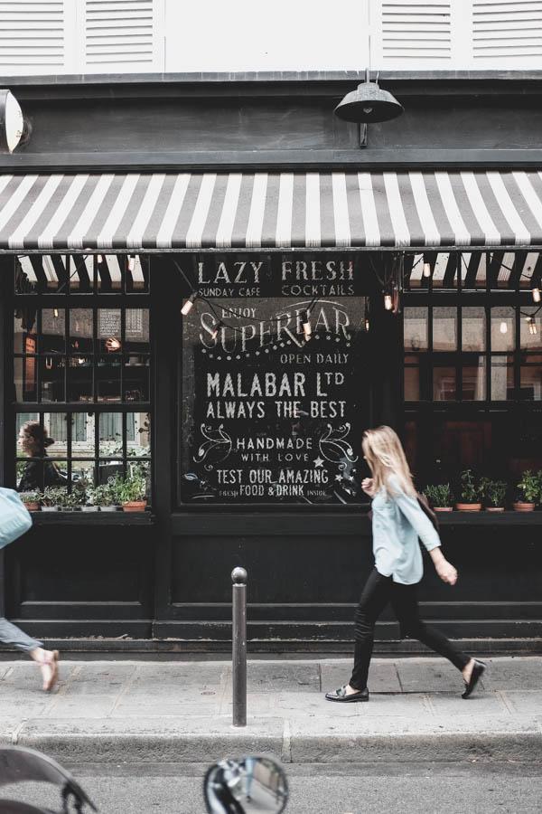 La Malabar.   Šis restoranas liko kitam kartui.    La Malabar. I'll visit this restaurant during next visit to Paris.