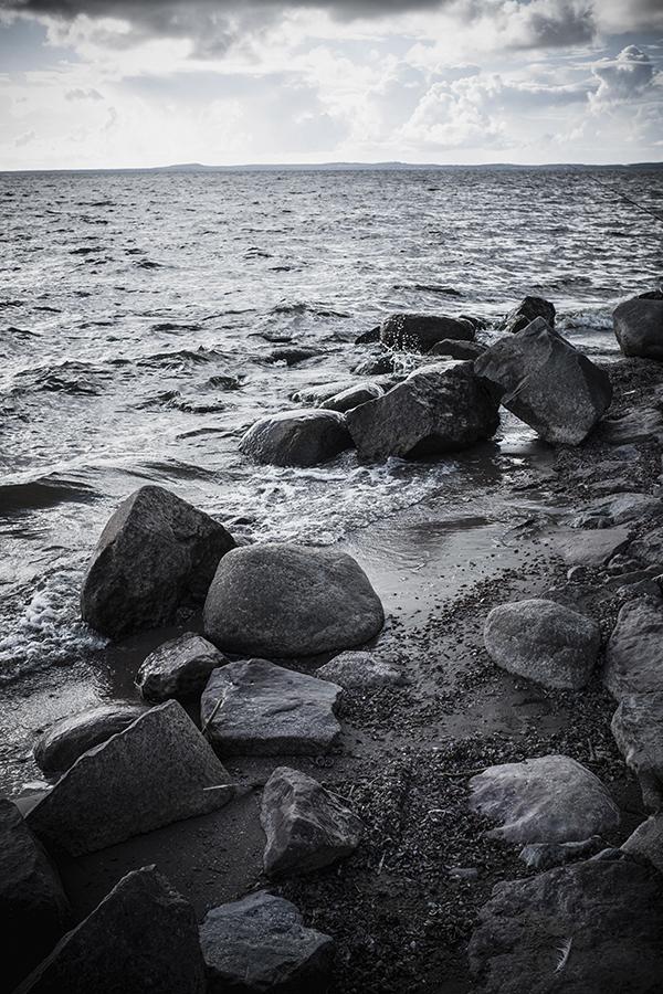 Kuršių marios.  Curonian Lagoon.