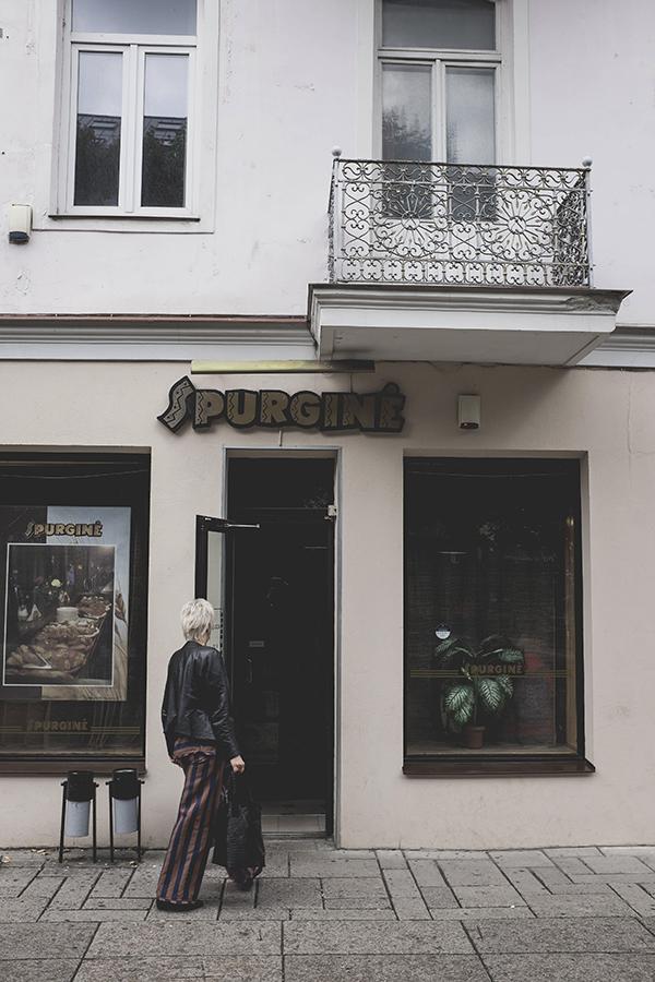 Garsioji Kauno Supurginė.  Famous donut house in Kaunas.