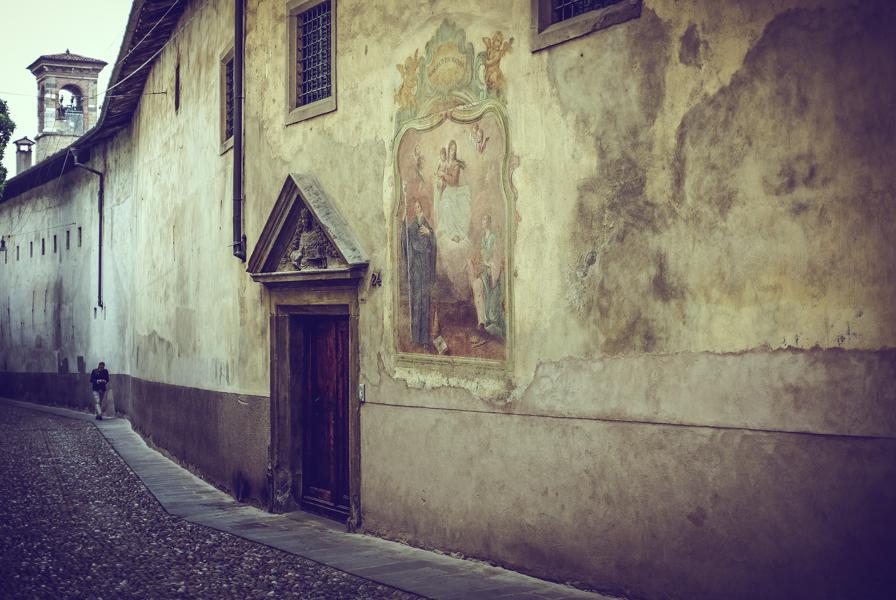 Siena. Bergamo  The Wall. Bergamo