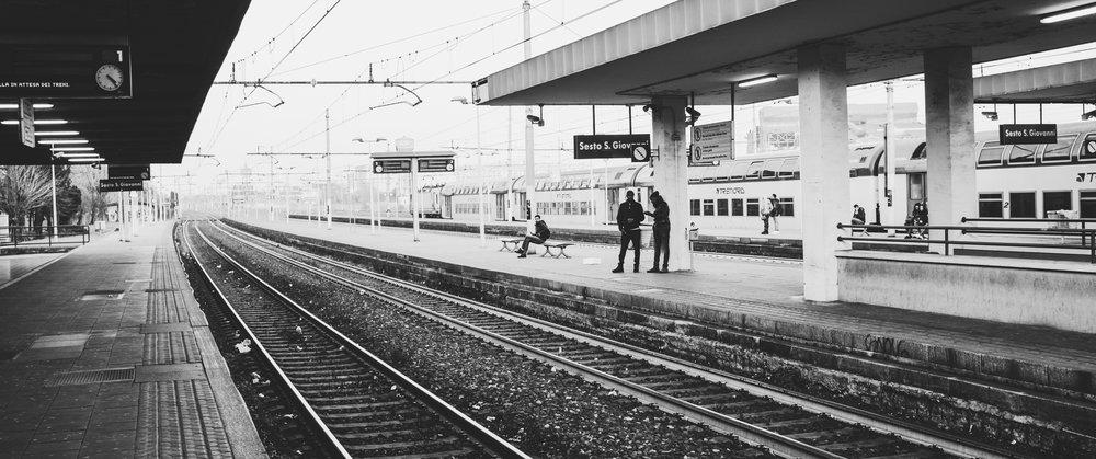 Railway station. Milan
