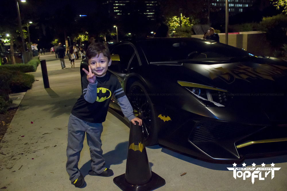 Batman Light Los Angeles City Hall Adam West Bat Mobile
