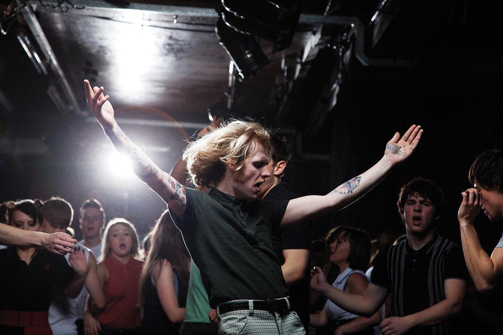 ELAINE CONSTANTINE, PERRY, 100 CLUB, LONDON, Z CYKLU SESJA TANECZNA NORTHERN SOUL, 2012 © ELAINE CONSTANTINE