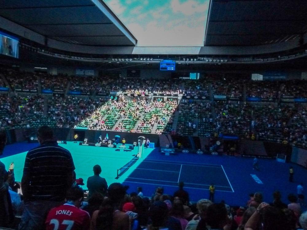 australian open roof