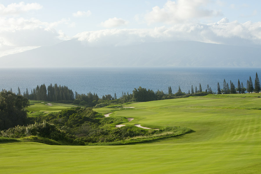 18th at Kapalua