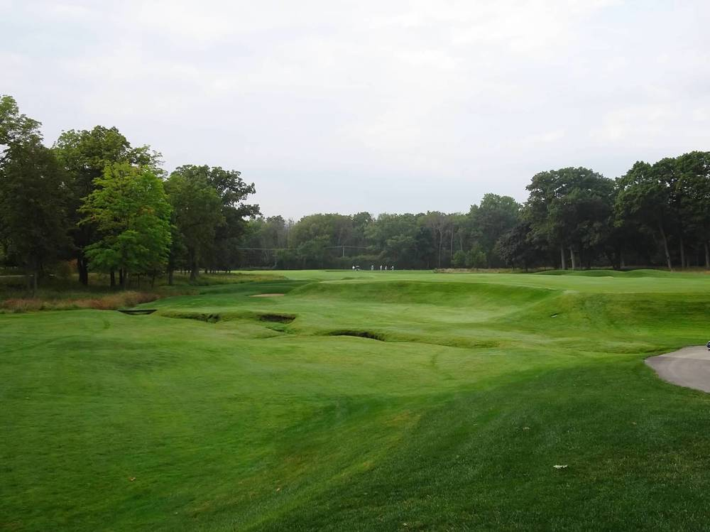 View of the 2nd hole from off the tee