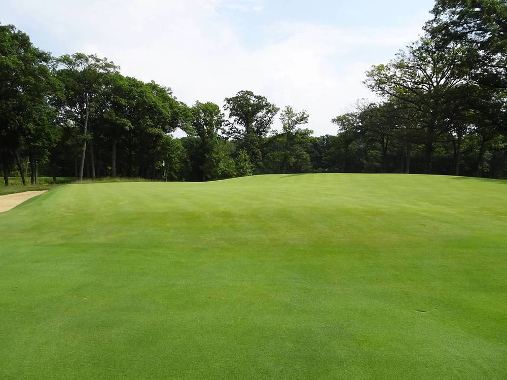 A closer look at the 14th's classic redan green