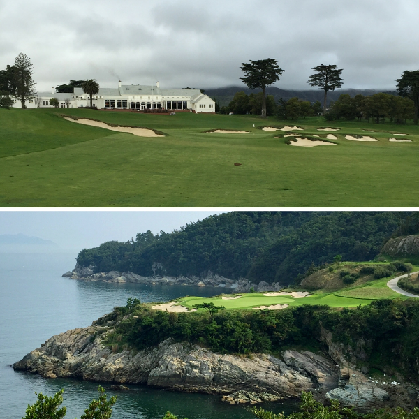 Kyle Phillips' California Club (Above) and South Cape Owners Club (below)