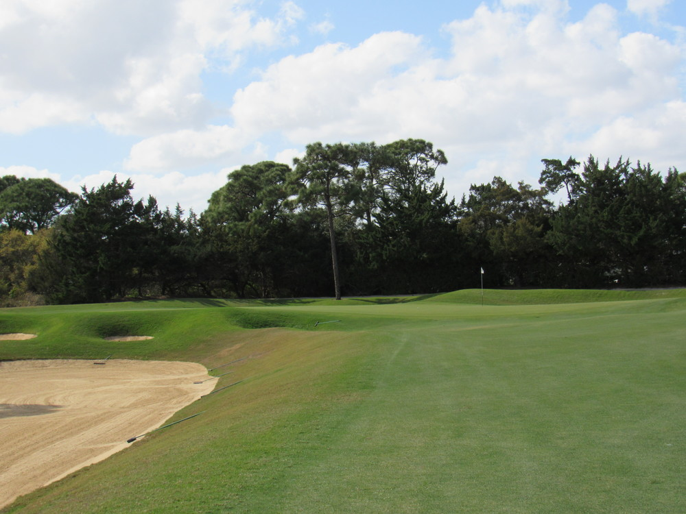 Approach to the 1st green