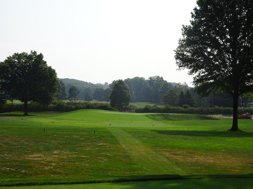 The reverse redan 6th at Fox Chapel, a Seth Raynor Design