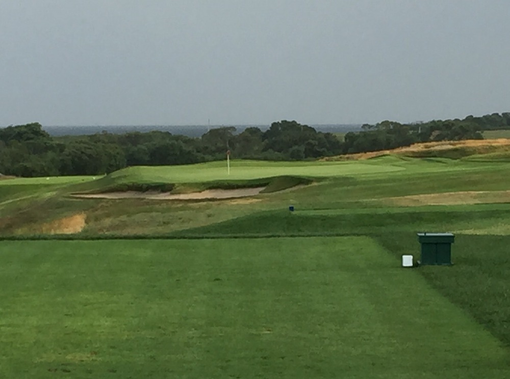 The 14th at Newport C.C., one of America's first golf clubs.