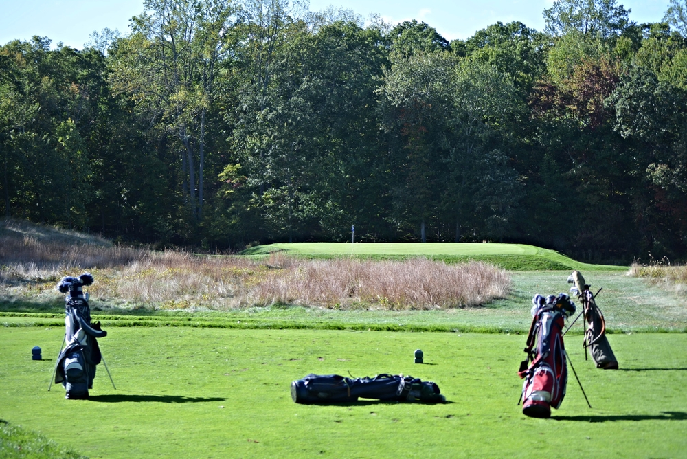 The 5th hole at The Course at Yale. Photo Credit: Holderness & Bourne