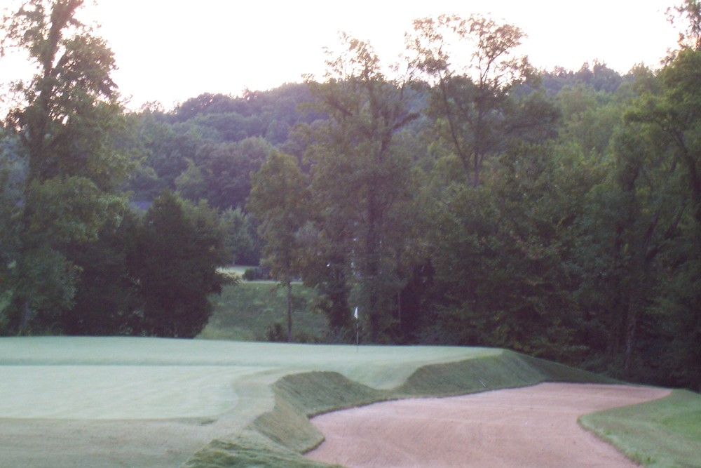 The right side of the 17th at Black Creek Club. Photo Credit:  Black Creek Clu b.