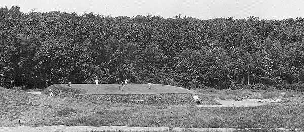 The fifth hole at the Course at Yale from 1925.