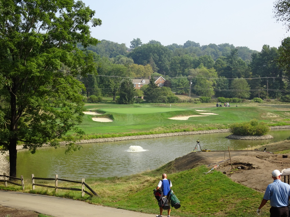 The 3rd at Raynor's Fox Chapel Golf Club.