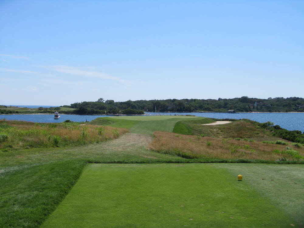 The one-shot 11th at Fishers Island Club