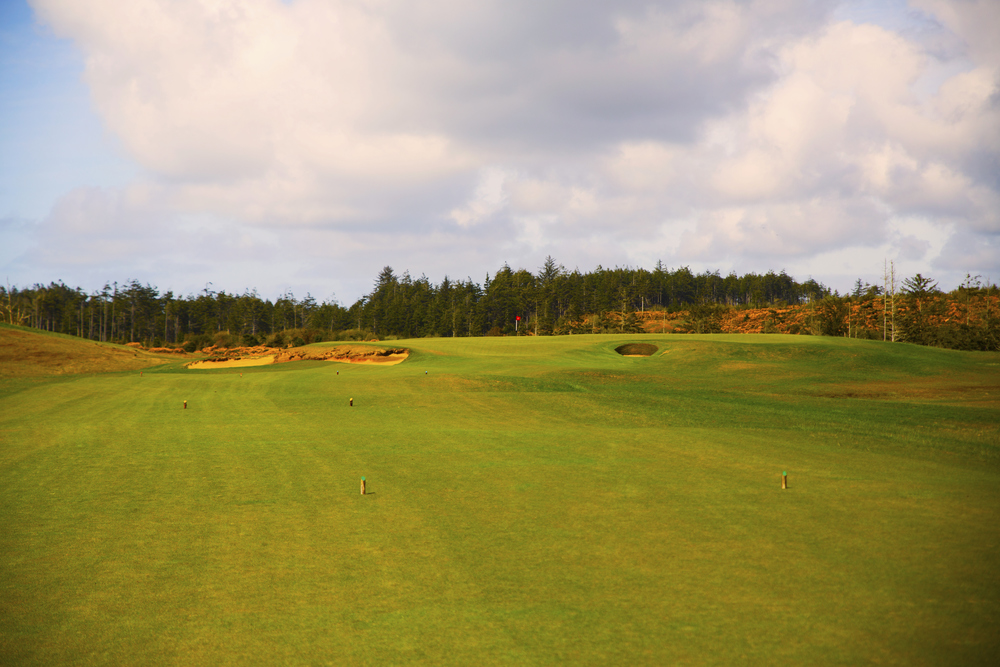 The 2nd hole at Bandon Dunes Golf Resort's Old Macdonald Course. Photo Credit:  Bandon Dunes Golf Resort  & Timothy Scahill.