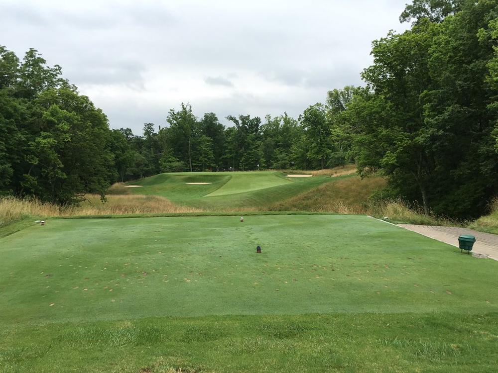 Camargo's 5th hole, the eden par 3. Photo Credit:  An Ambulent Golfer