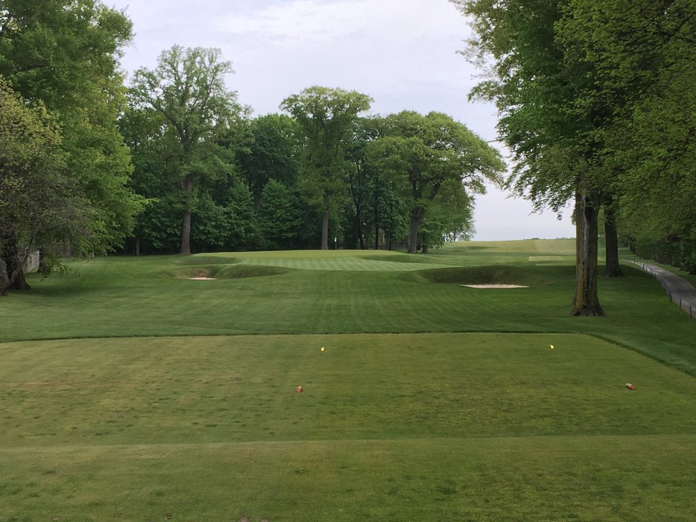 The 4th hole at the Creek Club. Photo Credit:  An Ambulent Golfer