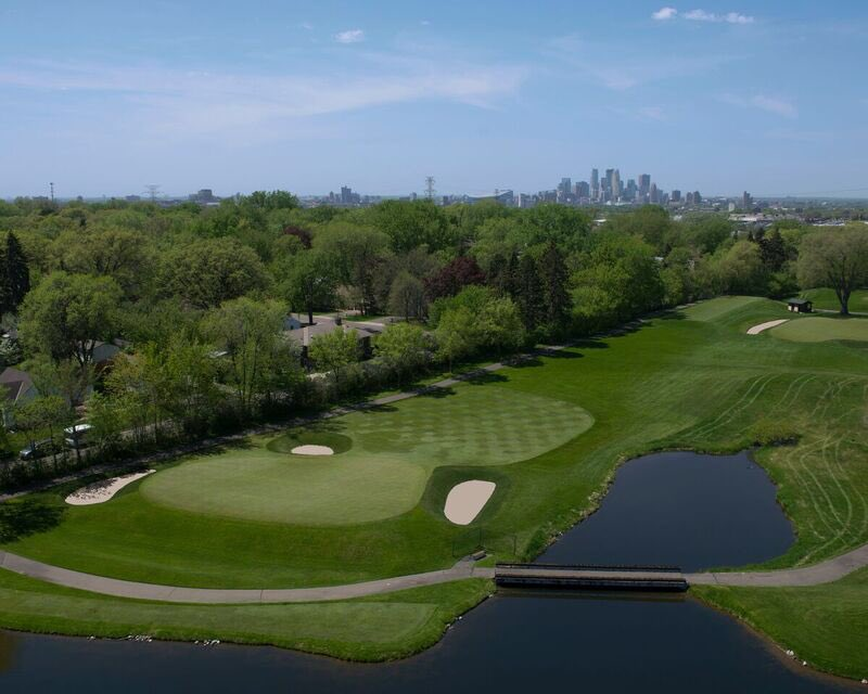 The 7th hole at Midland C.C. in Minneapolis. Photo Credit: