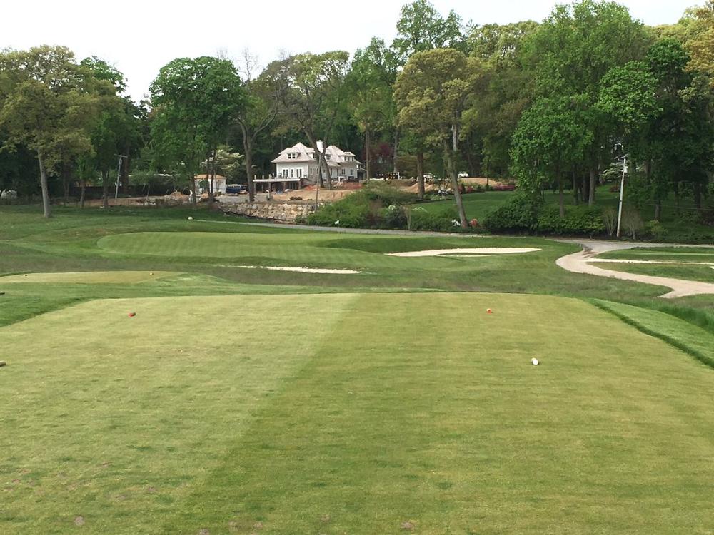 The Creek Club's redan 8th.Photo Credit: An Ambulent Golfer