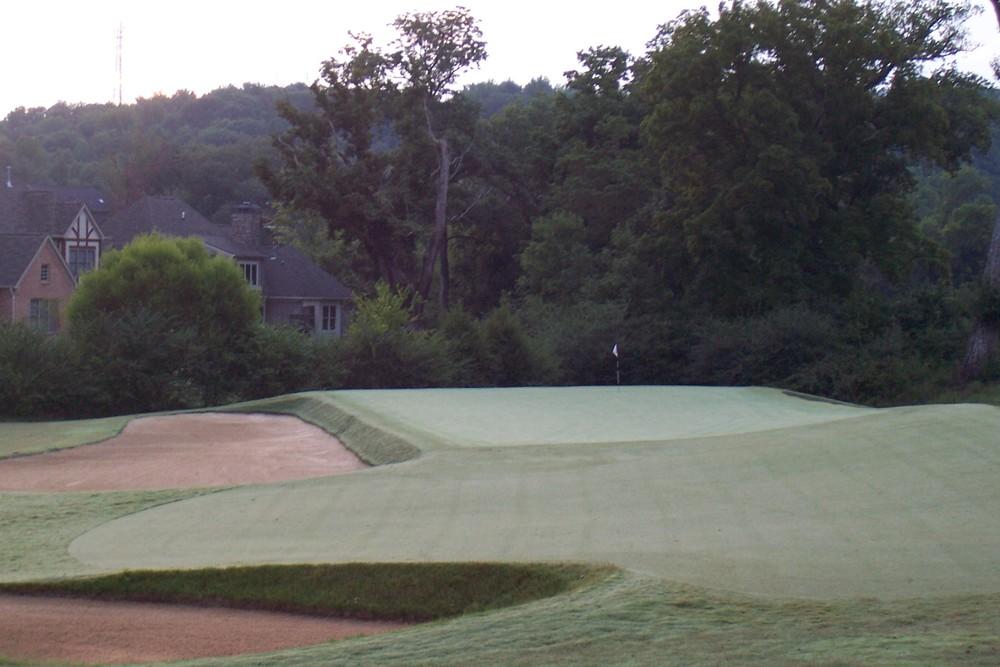 The redan hole at Black Creek Club, the 11th. Photo Credit:  Black Creek Club