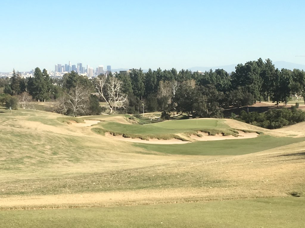 The picturesque 11th at LACC North. Photo Credit: An Ambulent Golfer
