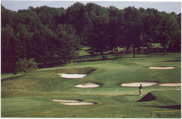 The challenging 2nd at Somerset Hills. Photo Credit: Kevin Schmidt
