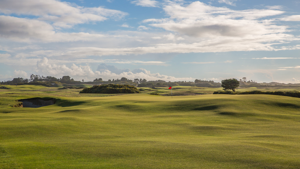 The 12th at Old Macdonald, a Tom Doak and Jim Urbina design. Photo Credit:  Bandon Dunes Golf Resort  & Timothy Scahill