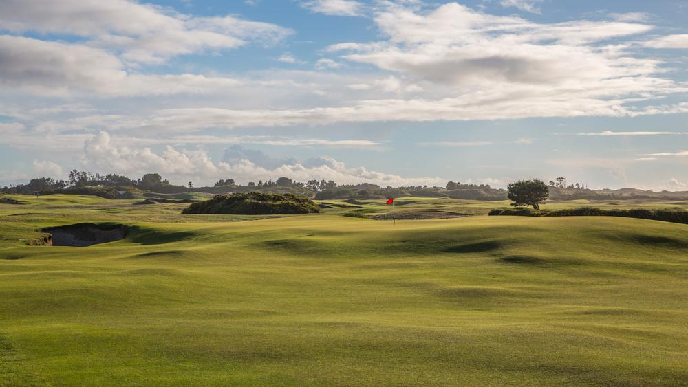 The 12th at Old Macdonald, a Tom Doak and Jim Urbina design. Photo Credit:  Bandon Dunes Golf Resort  & Timothy Scahill
