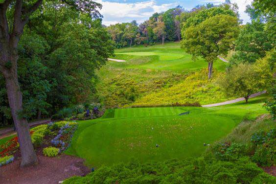 The 3rd hole at Pittsburgh's Longvue Club.